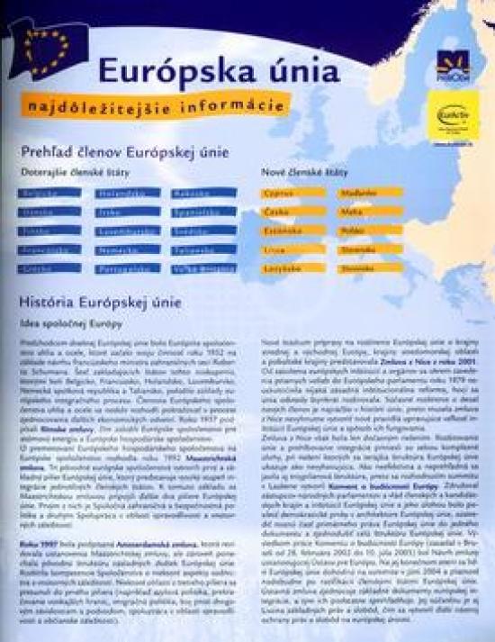 Európska únia - karta