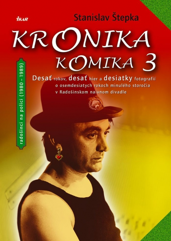 Kniha: Kronika komika 3 (Stanislav Štepka)
