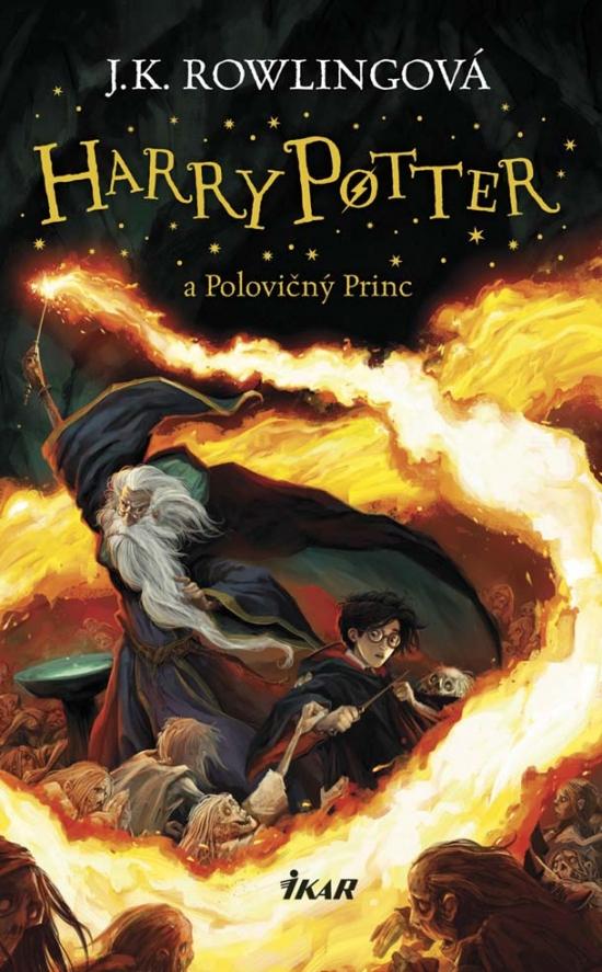 Harry Potter 6 a Polovičný Princ - Joanne K. Rowlingová