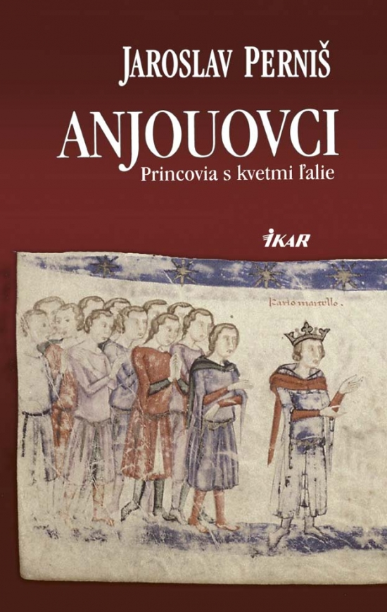 Anjouovci - Princovia s kvetmi ľalie
