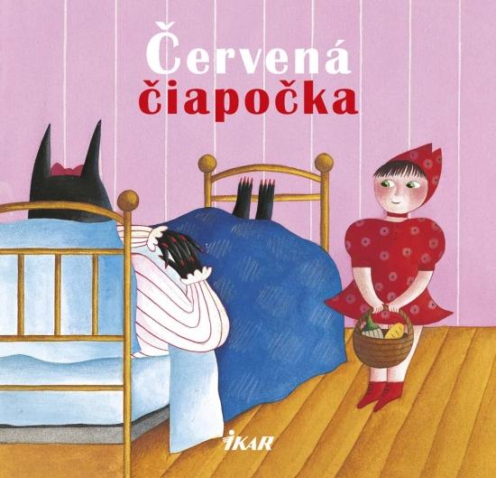 Červená čiapočka - rozprávkové kartičky - Nicoletta Codignola