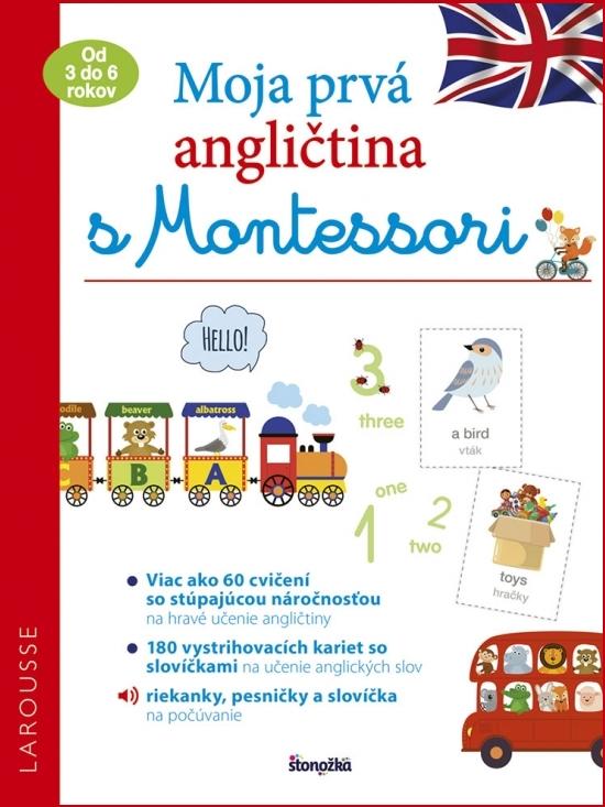 Moja prvá angličtina s Montessori - Lydie Barusseauová