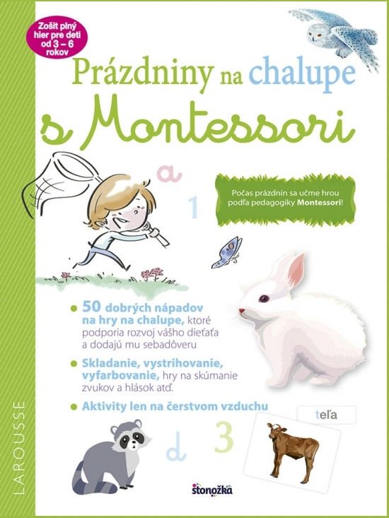 Prázdniny na chalupe s Montessori - Laurie Daubaová