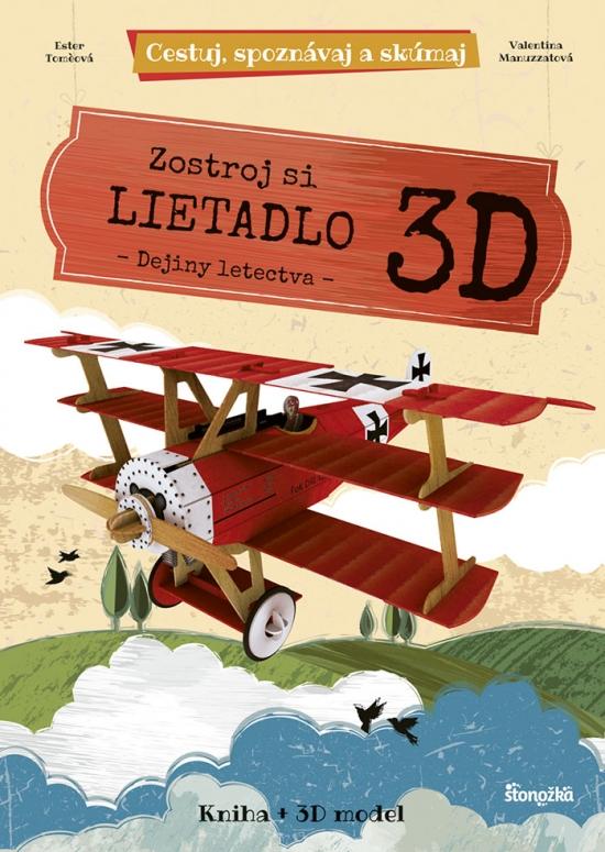 Zostroj si 3D lietadlo
