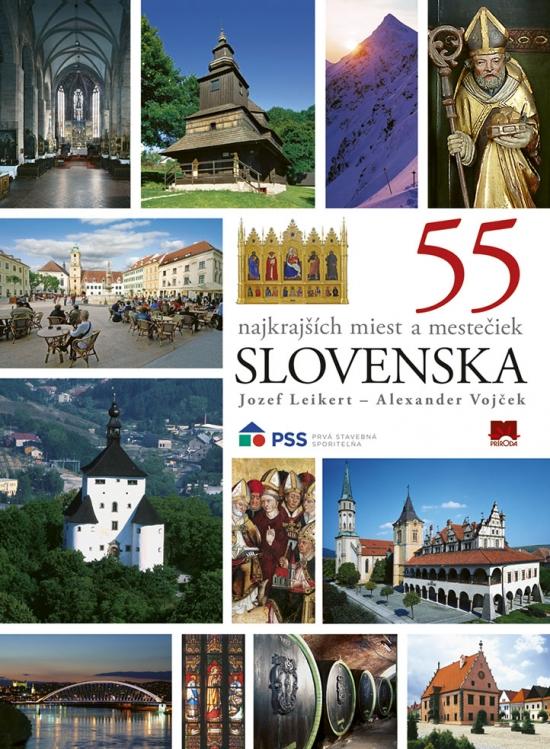 55 najkrajších miest a mestečiek Slovenska, 2. vydanie