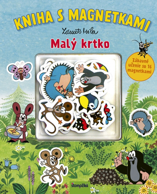 Kniha s magnetkami: Malý krtko - Zdeněk Miler