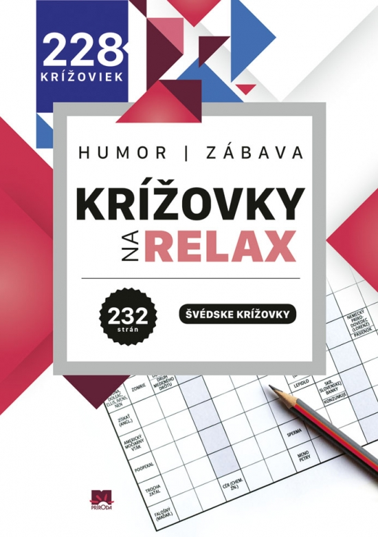 Krížovky na relax 1: Humor - zábava