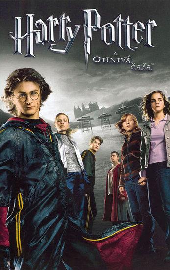 Harry Potter a ohnivá čaša DVD