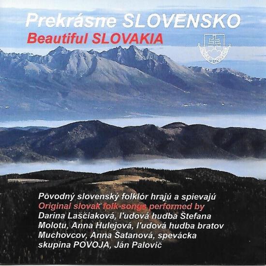 Ľudové piesne výber – Prekrásne Slovensko