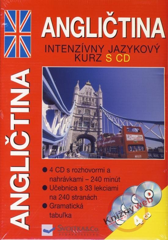 Angličtina - intenzívny jazykový kurz s CD
