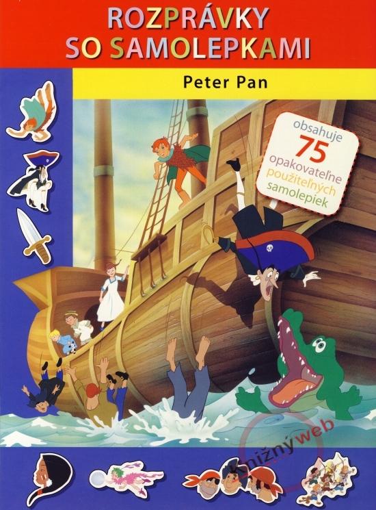 Peter Pan - Rozprávky so samolepkami - Van Gool