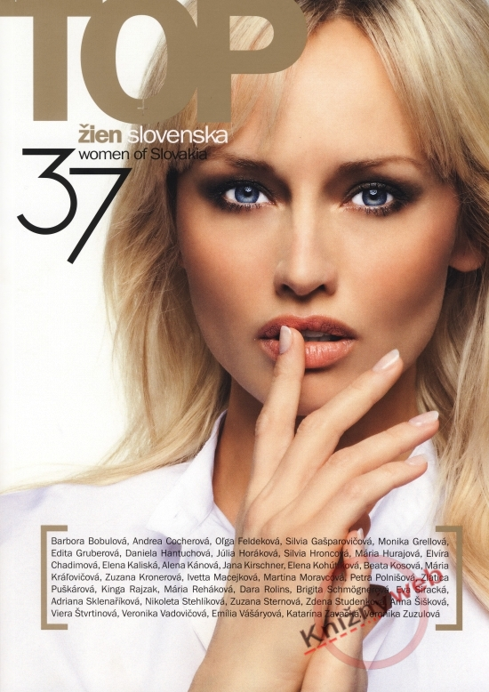 37 TOP žien Slovenska / 37 women of Slovakia