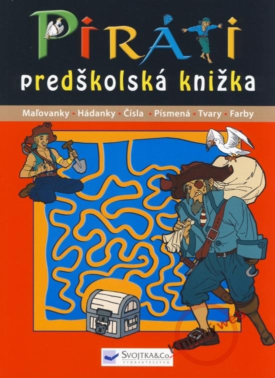 Piráti - predškolská knižka