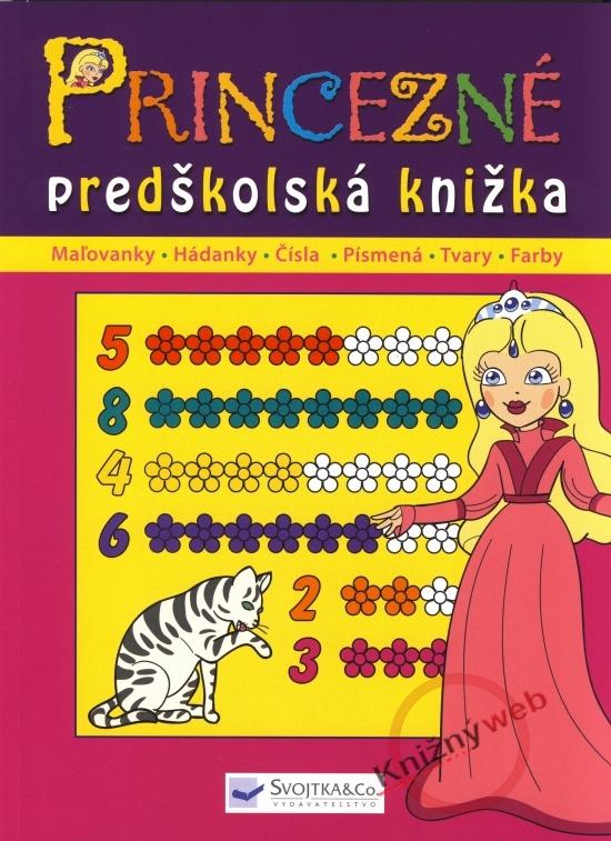 Princezné - predškolská knižka