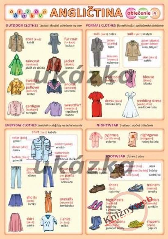 Obrázková angličtina 4 - oblečenie - Petr Kupka a kol.
