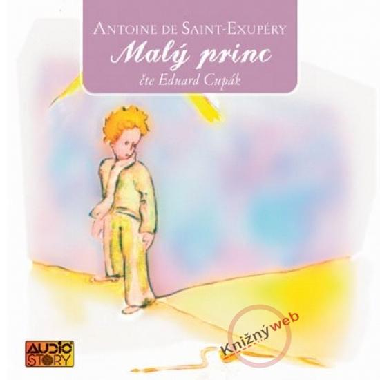 Malý princ - KNP-2CD - Antoine de Saint-Exupéry