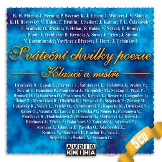 Sváteční chvilky poezie - Klasici a mistři - KNP-2CD