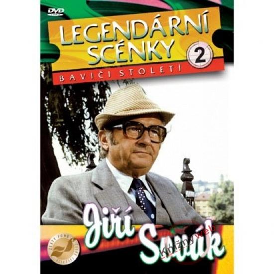 Legendární scénky 2 - Jiří Sovák (DVD)