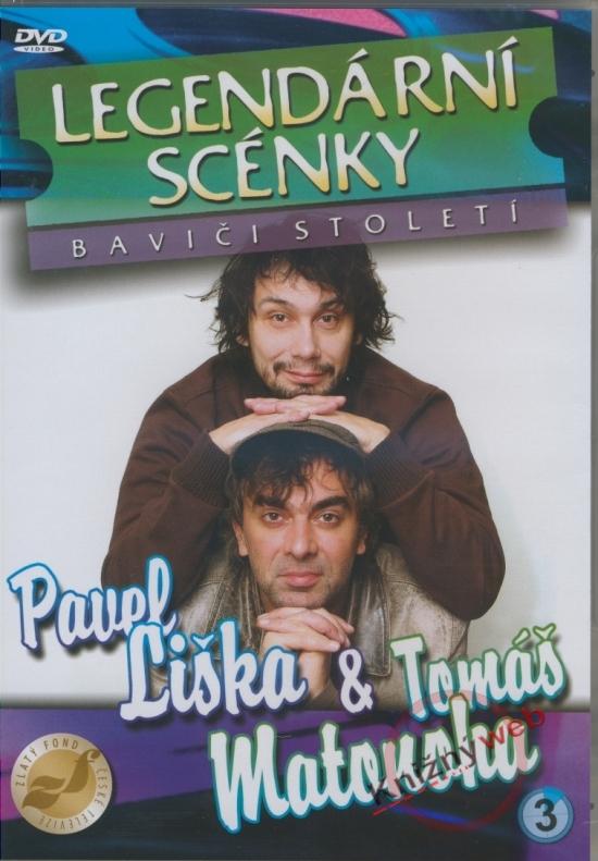 Legendární scénky 3 - Pavel Liška & Tomáš Matonoha (DVD)