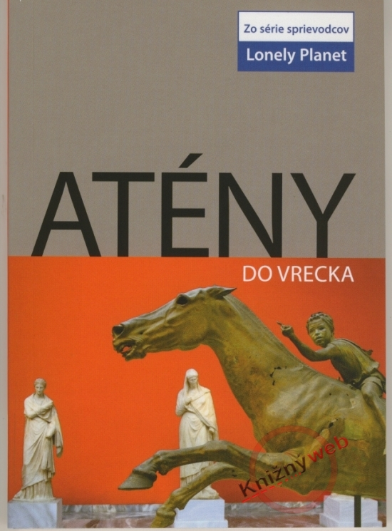 Atény do vrecka - Lonely Planet - Victoria Kyriakopoulos