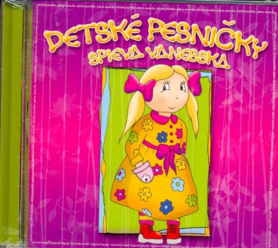 CD-Detské pesničky spieva Vanesska