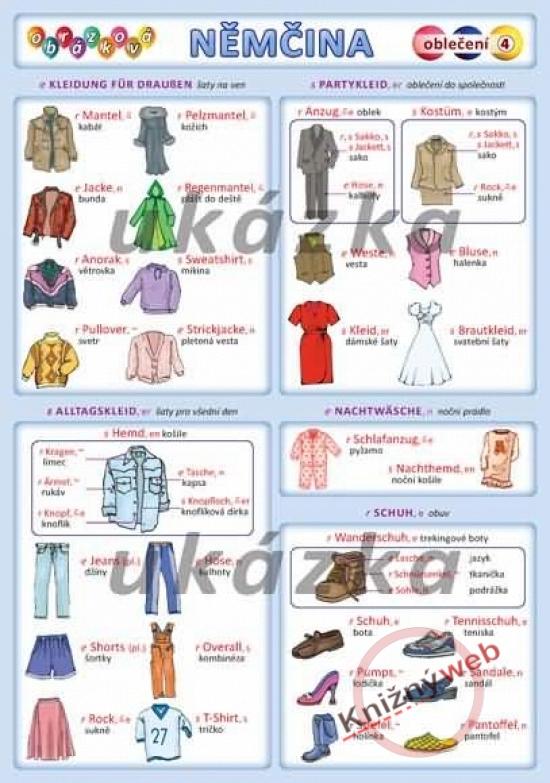 Obrázková nemčina 4 - oblečenie - Petr Kupka a kol.
