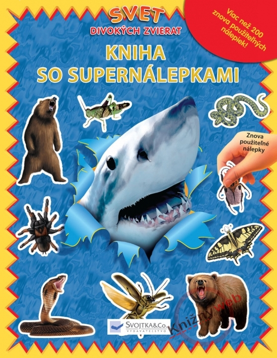 Svet divokých zvierat-Kniha so supernálepkami