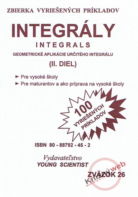 Integrály /Integrals - II. diel