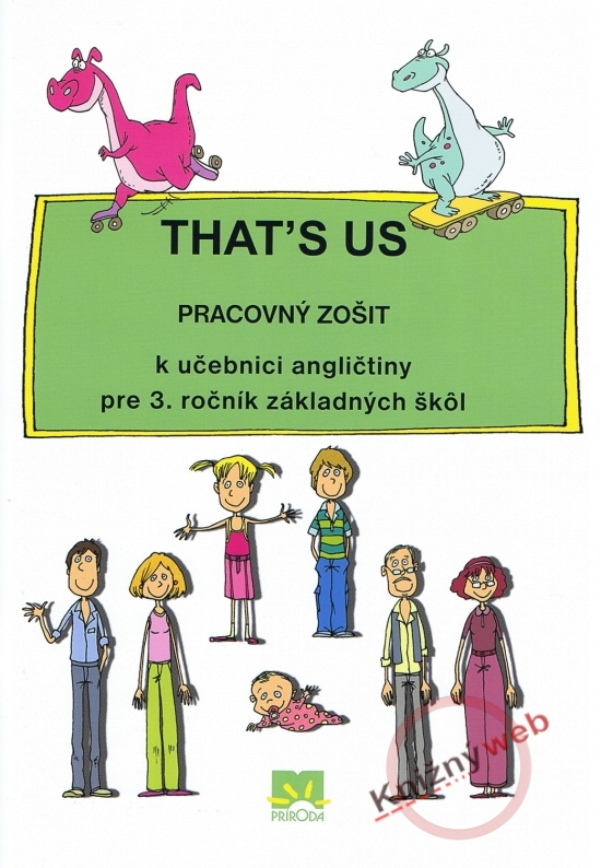 That´s us - Pracovný zošit k učebnici angličtiny pre 3. ročník základných škôl