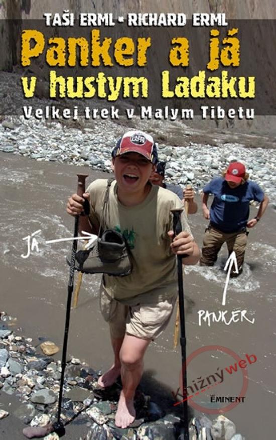 Panker a já v hustym Ladaku - Taši a Richard Erml