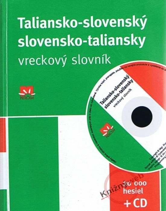Taliansko-slovenský a slovensko-taliansky vreckový slovník + CD