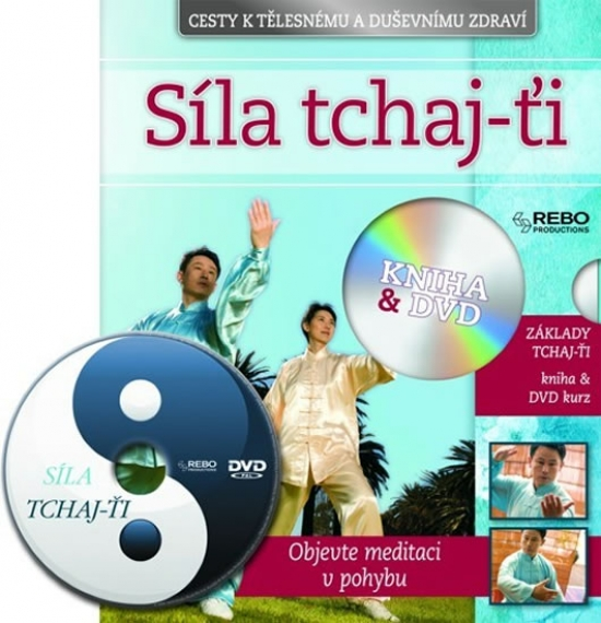 Síla Tchaj-ťi + DVD