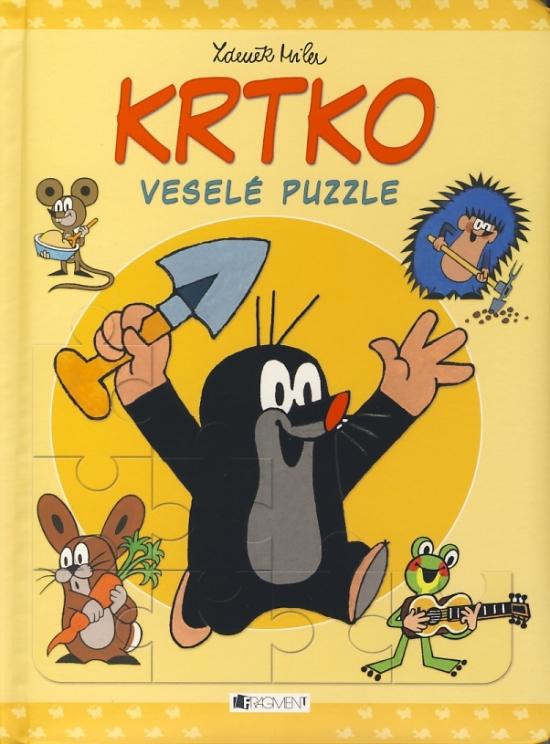 Krtko - Veselé puzzle - Zdeněk Miler