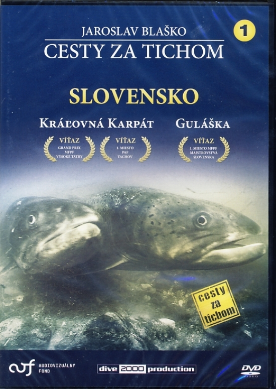 Cesty za tichom - Slovensko - DVD 1