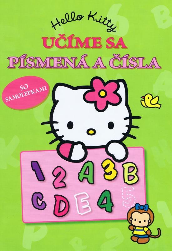 Hello Kitty - Učíme sa písmená a čísla