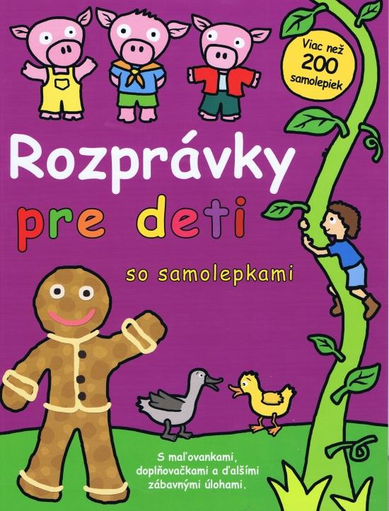 Rozprávky pre deti so samolepkami