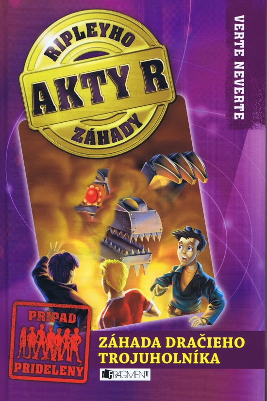 Akty R: Ripleyho záhady 2 - Záhada dračieho trojuholníka - Kay Wilkins