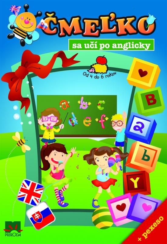 Čmeľko sa učí po anglicky + pexeso - Stanislava Preclíková Wűrfl