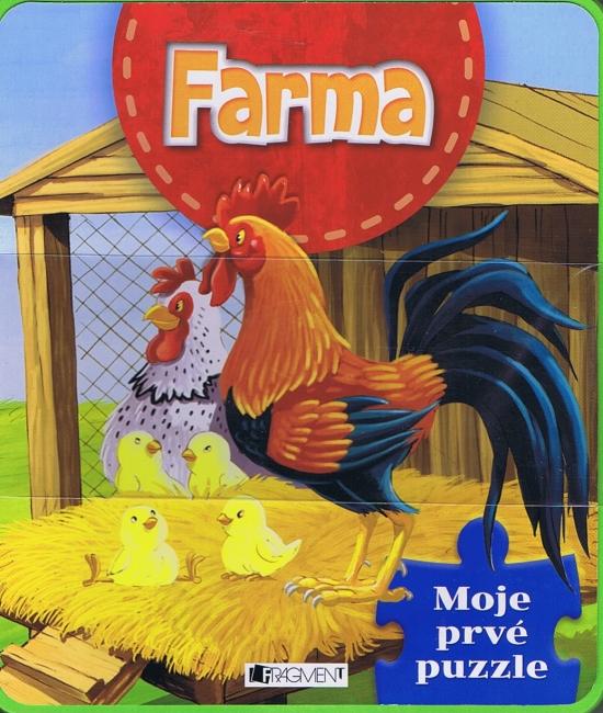 Moje prvé puzzle - Farma
