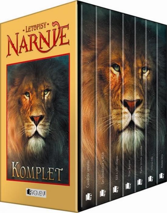 Letopisy Narnie 1-7.díl Komplet krabice - 3. vydání - C.S. Lewis