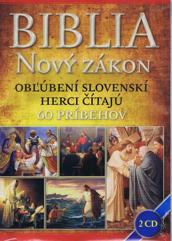 Biblia Nový zákon 2 CD