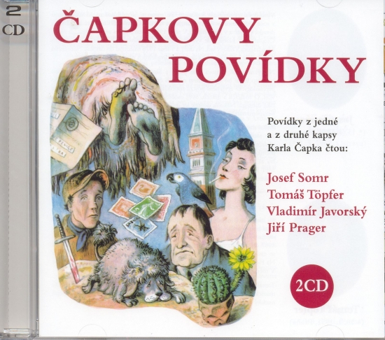 Čapkovy povídky - 2 CD