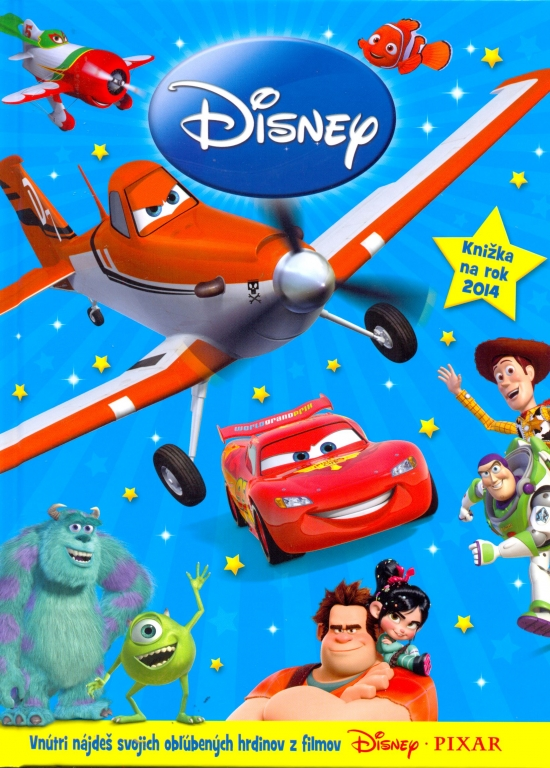Disney Pixar – Knižka na rok 2014