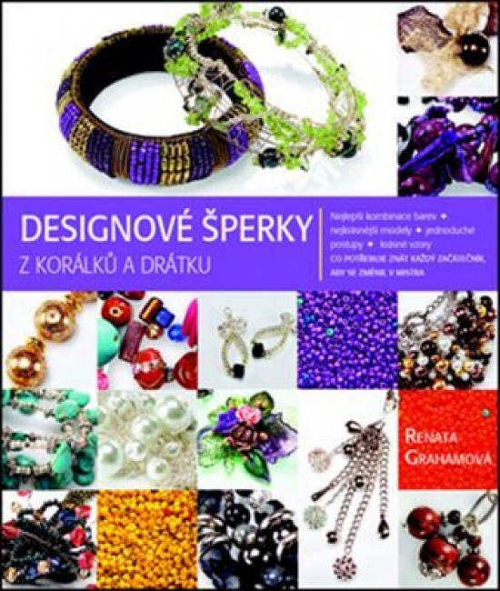 Designové šperky z korálků a drátku