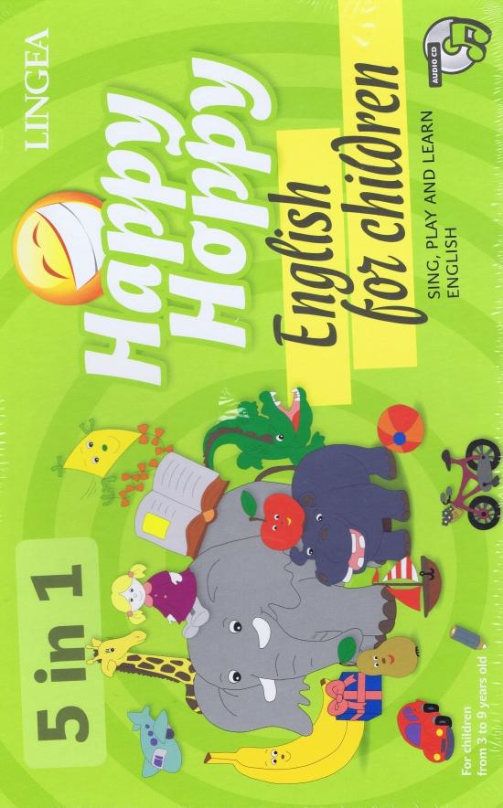 Happy Hoppy - Hra na výuku angličtiny