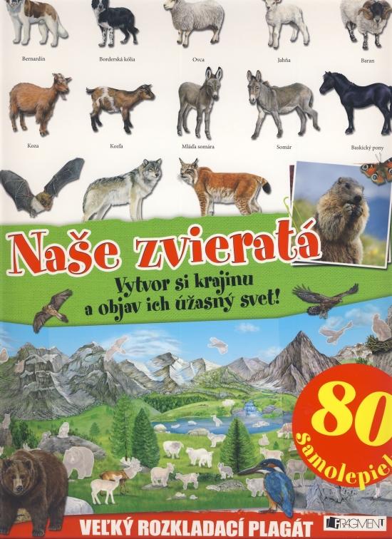 Naše zvieratá - Vytvor si krajinu a objav ich úžasný svet!