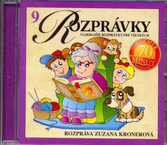 CD-Najkrajšie rozprávky pre všetkých (9)