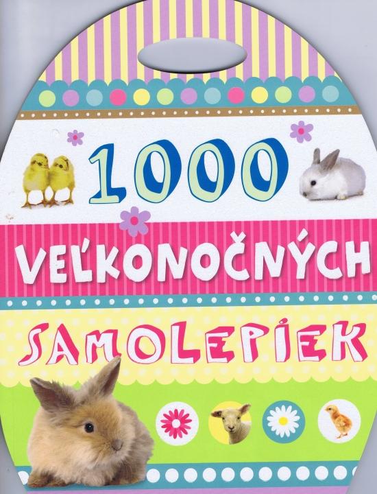 1000 veľkonočných samolepiek