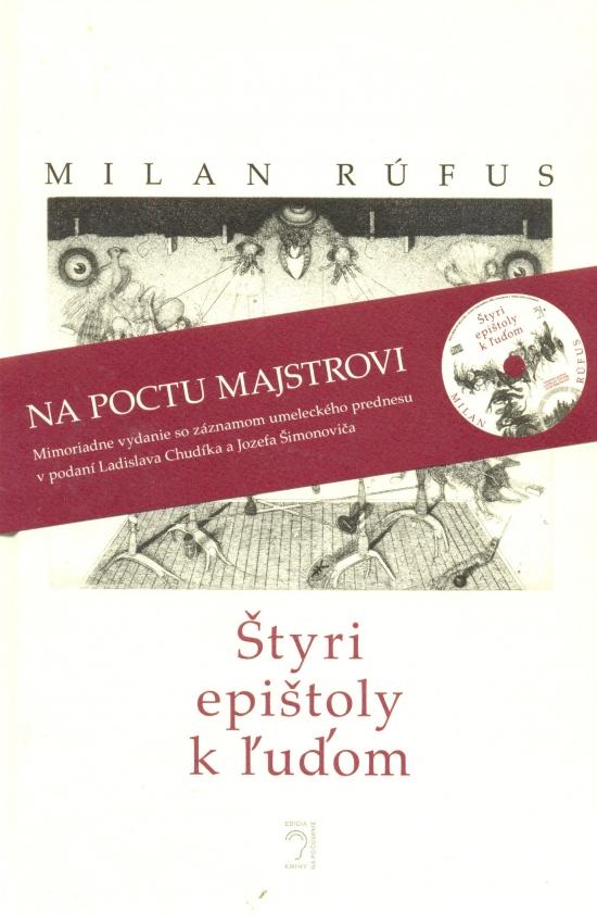 Štyri epištoly k ľuďom ( kniha + CD) - Milan Rúfus