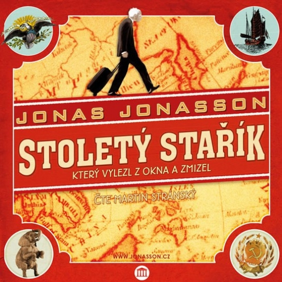 Stoletý stařík, který vylezl z okna a zmizel - CDmp3 - Jonas Jonasson